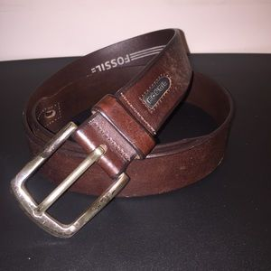 Fossil Genuine Leather Belt